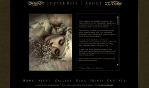 Bottle Bell Photography About - Google Chrome