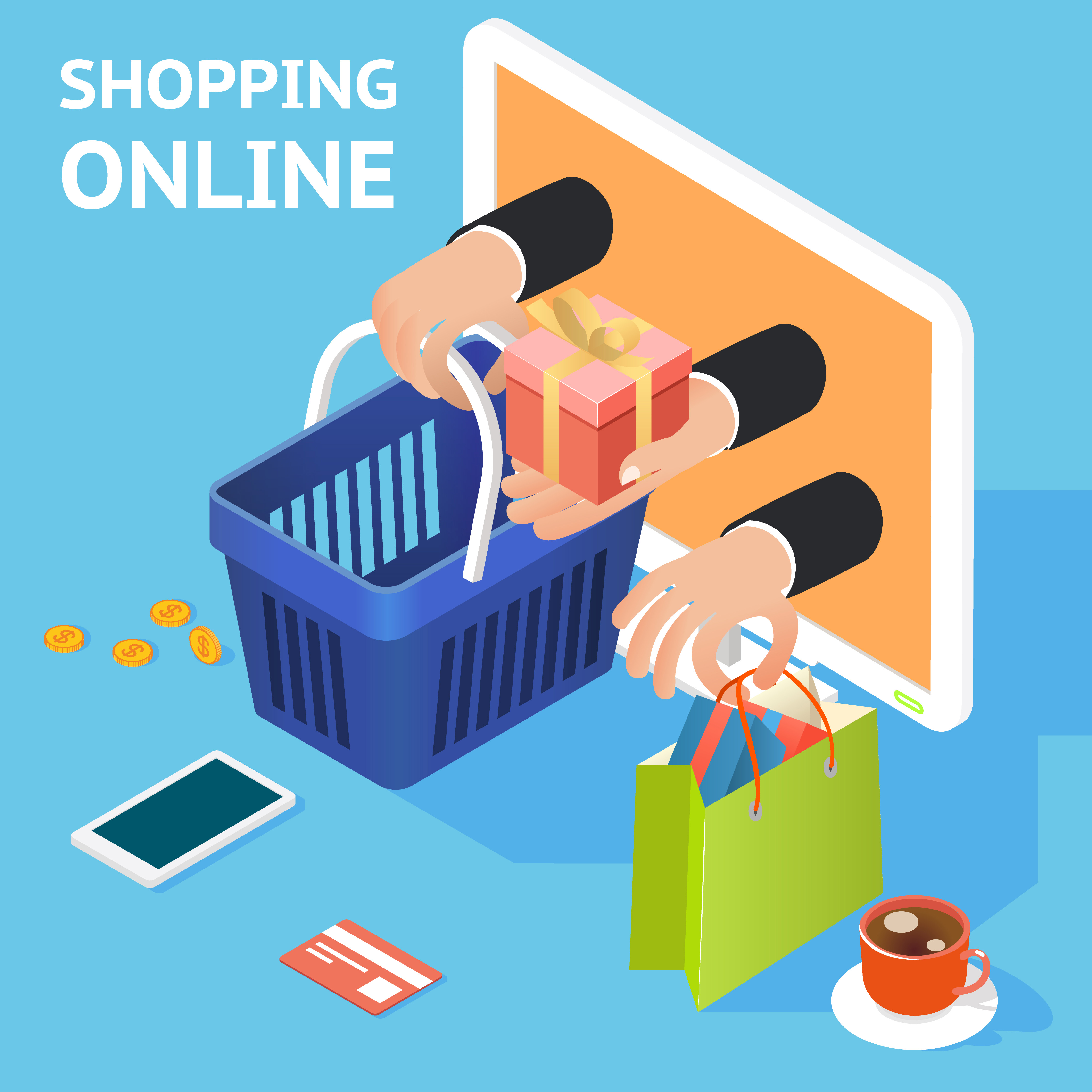 research retailing and online shopping